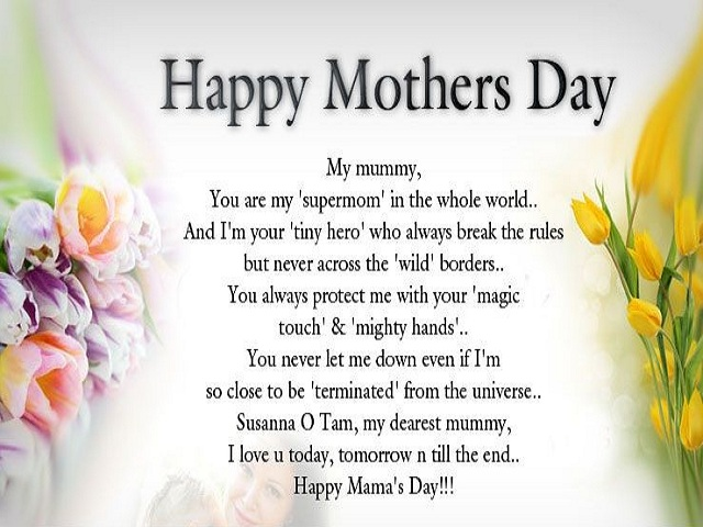 Mother's Day Poems Pictures 3
