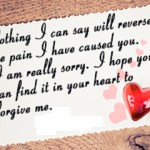 Apology And Sorry Poems