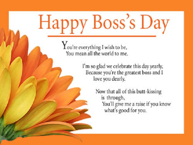 Boss day greetings 5 lovely messages boss day greetings 5 m4hsunfo