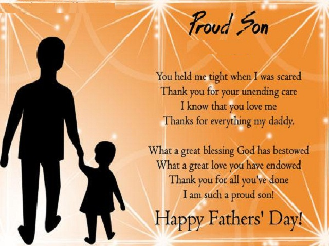 Father Day Poems – Lovely Messages