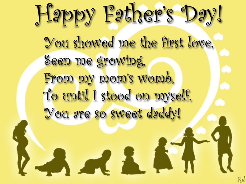 True Love Quotes And Sayings For Facebook Father's Day Poems W...