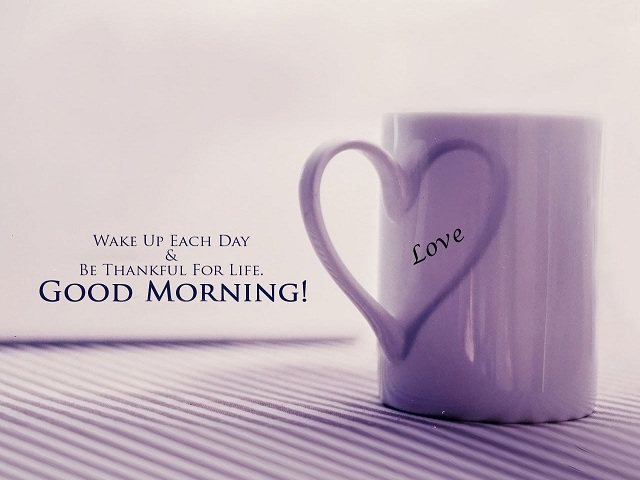 Good Morning One Word Or Two : Good morning greetings lovely messages