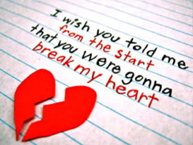 Heart Break Messages