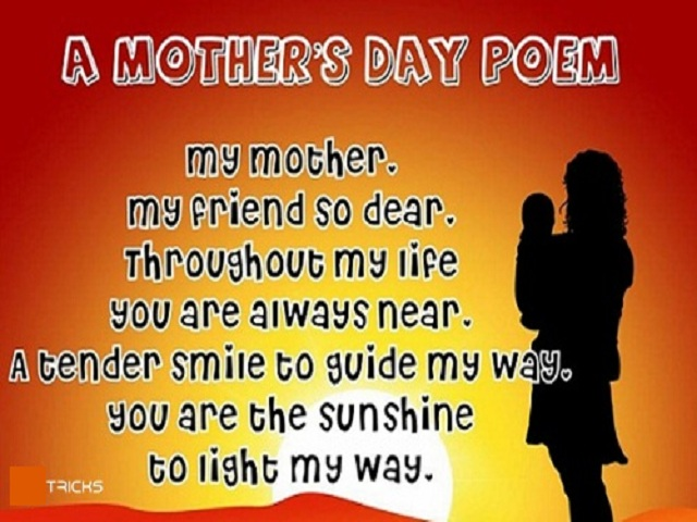 Mothers Day Poem In English idea gallery
