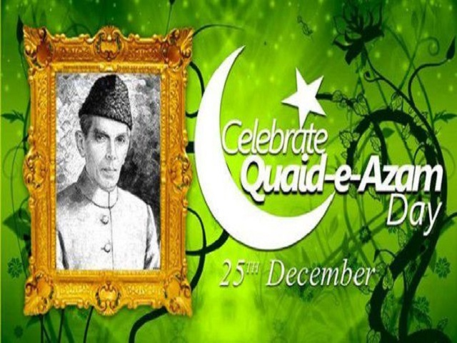 Celebration on Quaid e Azam Day