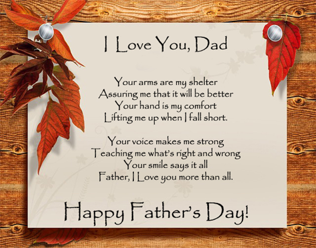fathers day poems quote