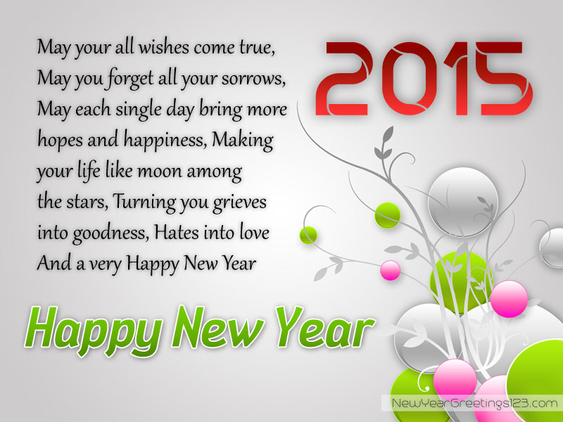 Best New Year Poetry - Famous Poetry - Cool New Year Poetry- Lovely ...